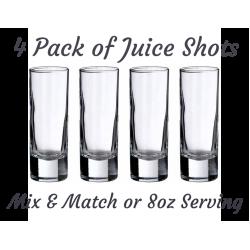 4 Pack Juice Shots